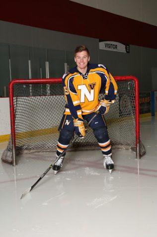 Matthew McDonnell, a varsity hockey player for Neuqua Valley.