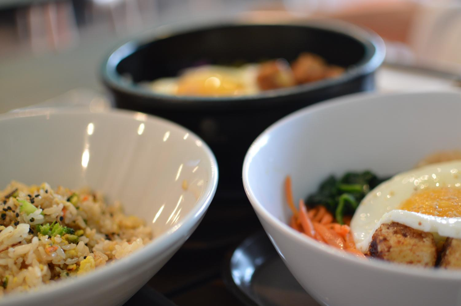 The dolsot bibimbap, the regular bibimbap, and fried rice were so well seasoned. The dolsot bibimbap which is in the black bowl is actually a hot stone bowl that keeps your food warm the entire time that you eat. If you want to check out this restaurant, their hours are Tuesday-Saturday (11am-8: 30 pm) and Sunday (11am-3: 30 pm).
