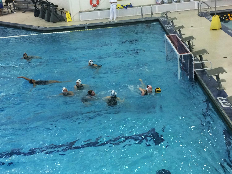 The Neuqua girls' varsity team plays against York High School.