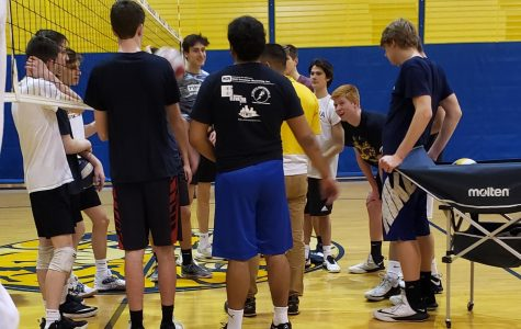 Boys Volleyball team loses the majority of their team