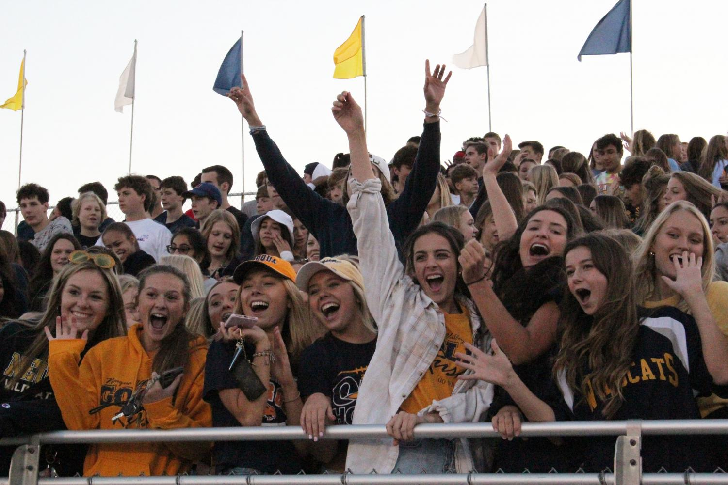 The+Neuqua+Valley+Gold+Rush+section+%0A+Scrimmage+Night+%2808%2F23%2F2019%29+