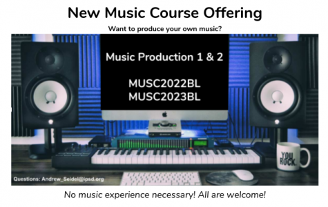 With Music Production I & II, you can be the next Billie Eilish!