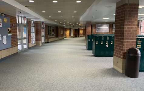 The hallways of Neuqua Valley where the students' safety is the first priority.