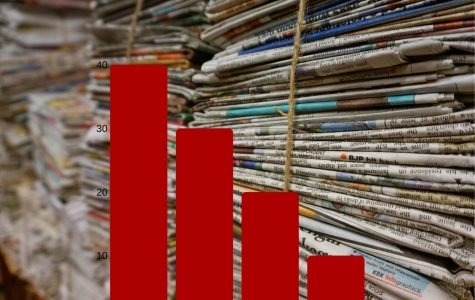 The McClatchy bankruptcy affects the printing of physical prints of newspapers, a decline that has been happening for the past 10 years.