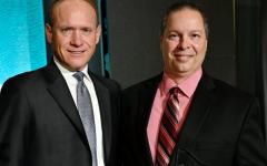 Anthony Tegtmeyer wins award for PLTW Engineering Teacher of the Year