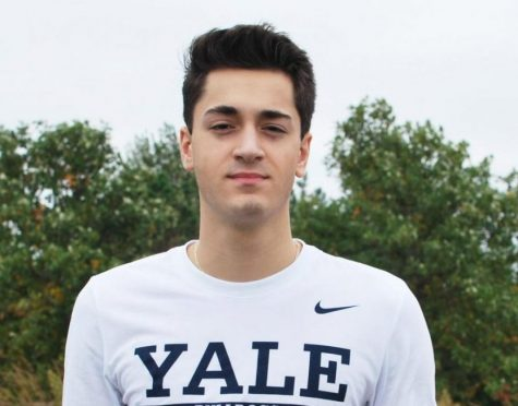 John Poulakidas, Highly recruited NVHS Senior and future Yale Bulldog.
