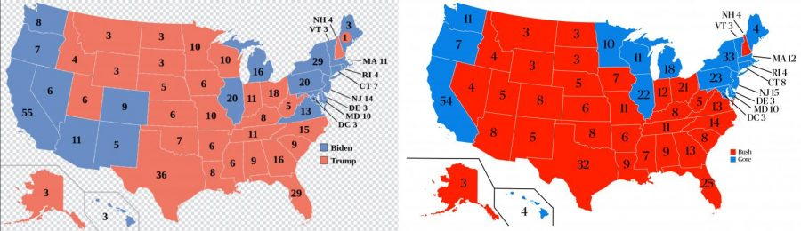 Then and now: comparing this year's electoral disputes to Bush v. Gore