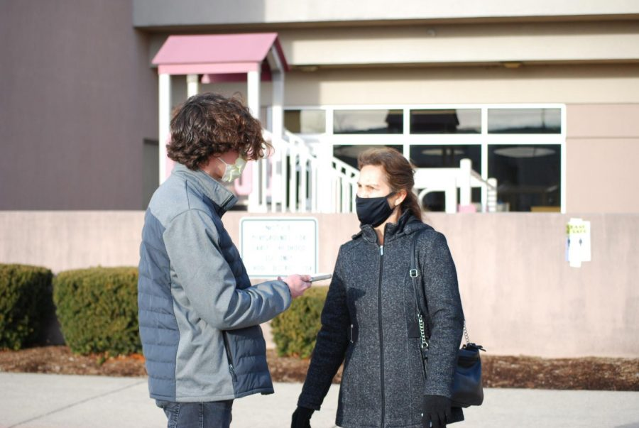 Staff Writer Ben LeGrand interviews Julie Berkowitz, who is the parent of two NVHS alumni.