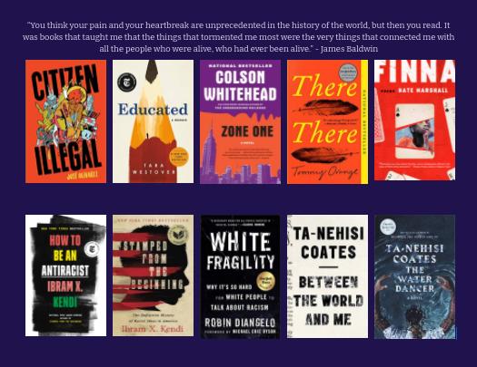 Varias novelas de autores de color están siendo leídas y consideradas para nuevas opciones en el currículo de inglés.
