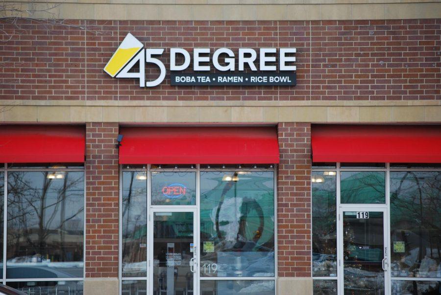 45 Degree Tea storefront