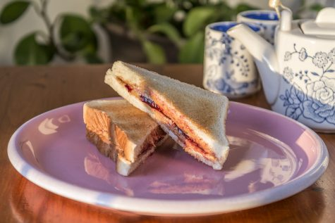 "Why are peanut butter and jelly sandwiches so good? Chef and author Justin Warner says its because of the ""law of peanut butter and jelly...[the] fat in peanut butter is mostly good fat, the sweetness comes from the jelly, and the bread is the vehicle that holds all this gloriousness together."""