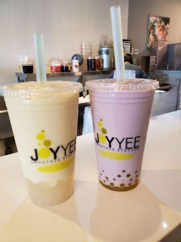 Boba tea from Joy Yee