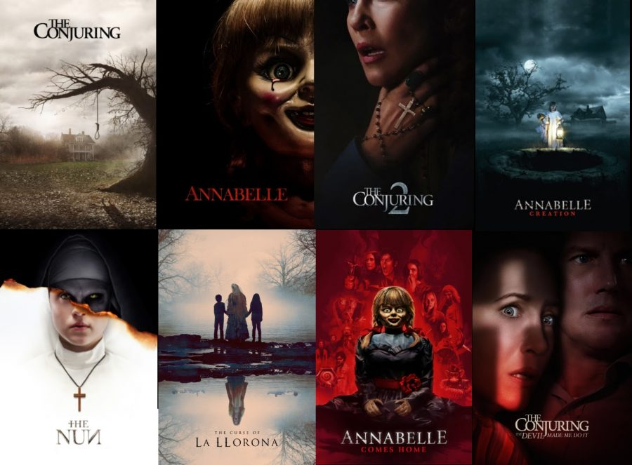 A peek into the eight films of The Conjuring universe