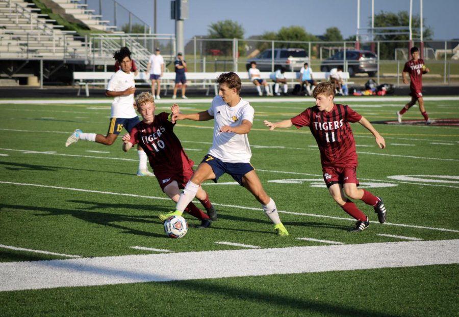 Soccer is a sport currently offered at Neuqua Valley.