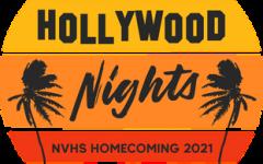 Symbol designed representing Neuqua Valleys 2021 Homecoming theme, Hollywood Nights.
