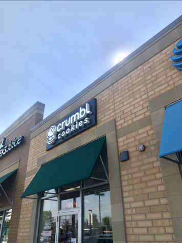 Crumbl Cookies is located in Naperville Crossings at 2936 Showplace Dr. The restaurant opened in late June of 2021.