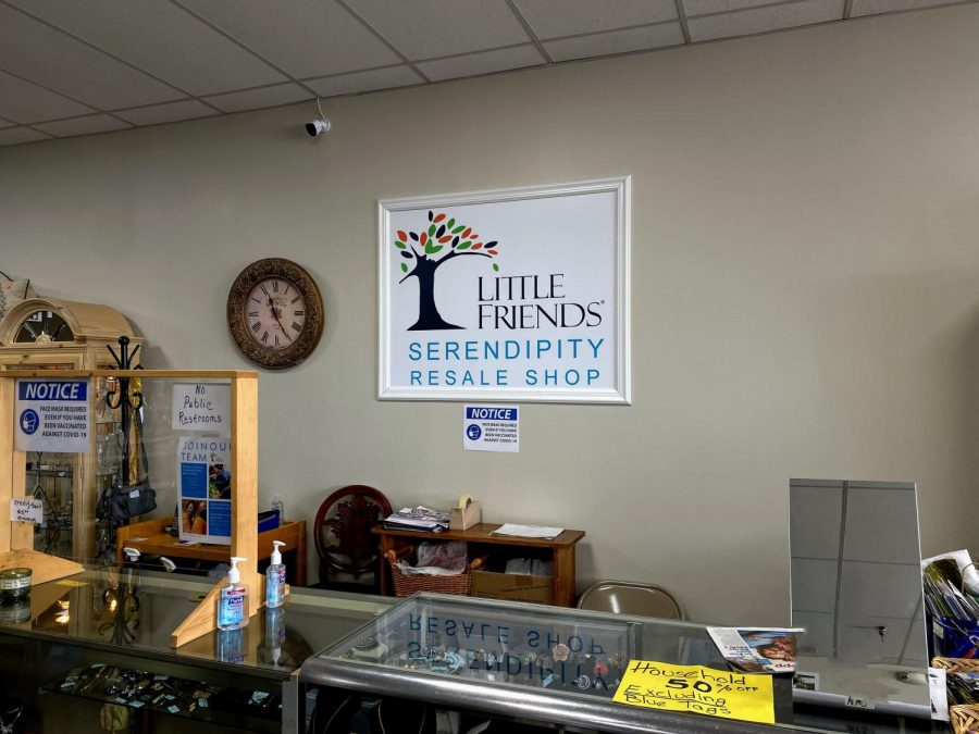 Serendipity is a clothing resale store located near the Fox Valley Mall in Aurora.