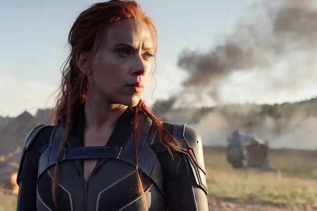 Scarlett Johansson stars in Black Widow.